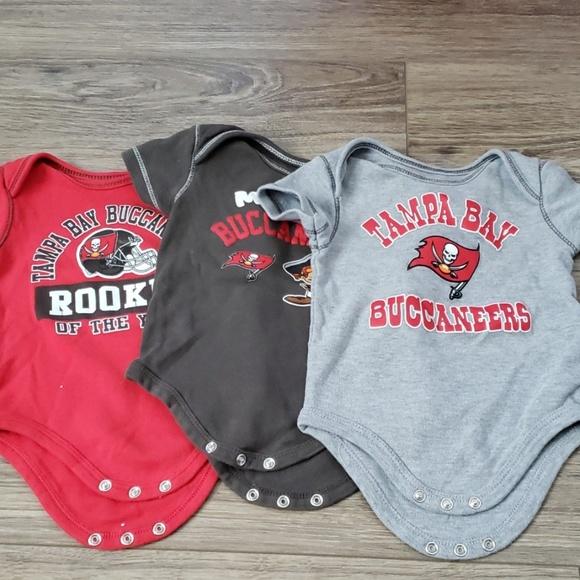 ae061884 Tampa Bay Buccaneers baby onesies bundle